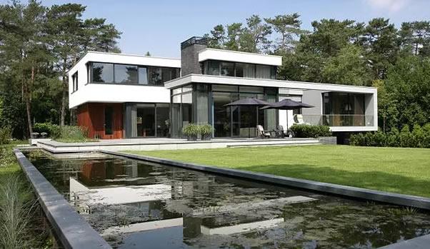 Casa estilo Moderno casa estilo moderno  Constructora de casas Valle Andino casa estilo moderno